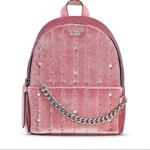 VICTORIA'S SECRET velvet Stud Small City Backpack